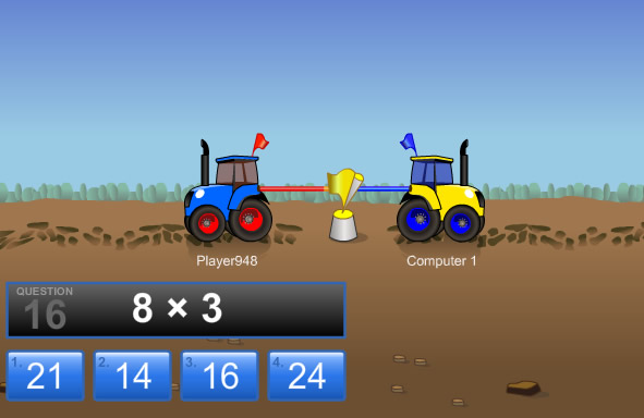 http://www.arcademics.com/games/tractor-multiplication/tractor-multiplication.html