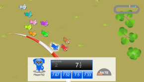 Puppy chase fractions to decimals cool math game