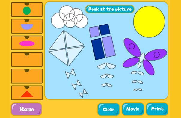 Cool Math shape store game